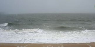 Stormy Atlantic Photo from Bethany Beach Town webcam