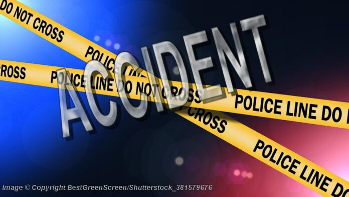 Police Line At Night © Copyright BestGreenScreen/Shutterstock