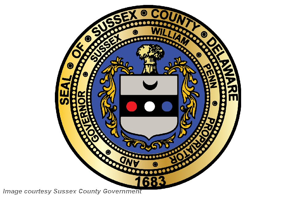 Sussex County Seal Courtesy Sussex County Government
