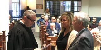 IG Burton Swearing-in