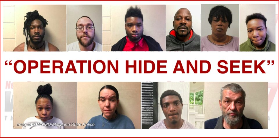 "Operation Hide and Seek"" Nets 41 Arrests, 12 Gang Members in"