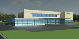 Artist's rendering of a planned Bayhealth medical facility near Milton. Image courtesy of Bayhealth