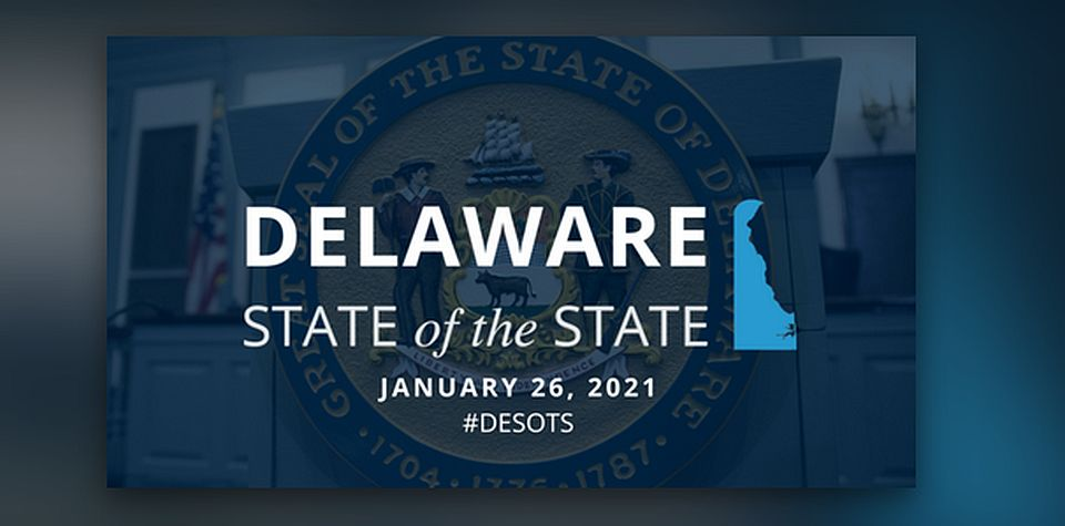 Gov John Carney's 2021 Delaware State of the State